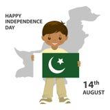 σημαία Πακιστάν Στοκ εικόνα με δικαίωμα ελεύθερης χρήσης