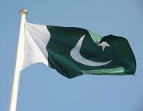 σημαία Πακιστάν s στοκ εικόνα με δικαίωμα ελεύθερης χρήσης