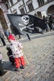 Σημαία πειρατών Στοκ φωτογραφία με δικαίωμα ελεύθερης χρήσης