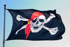 Σημαία πειρατών Στοκ εικόνα με δικαίωμα ελεύθερης χρήσης