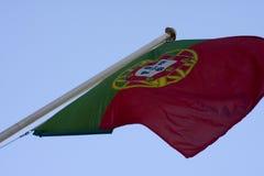 σημαία Πορτογαλία Στοκ φωτογραφίες με δικαίωμα ελεύθερης χρήσης