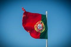 Σημαία Πορτογαλία Στοκ Φωτογραφία