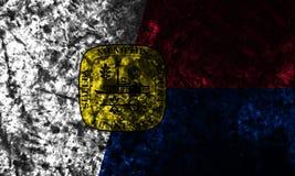 Σημαία πόλεων της Μέμφιδας grunge, κράτος του Τένεσι, Ηνωμένες Πολιτείες της Αμερικής Στοκ Εικόνες
