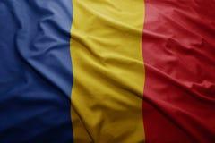 σημαία Ρουμανία Στοκ Φωτογραφίες