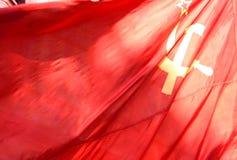 σημαία Σοβιετική Ένωση στοκ φωτογραφία