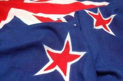 σημαία στοιχείων nz Στοκ Εικόνες