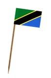 σημαία Τανζανία Στοκ εικόνα με δικαίωμα ελεύθερης χρήσης