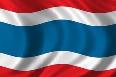 σημαία Ταϊλάνδη Στοκ Εικόνες