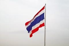 σημαία Ταϊλανδός στοκ εικόνα με δικαίωμα ελεύθερης χρήσης