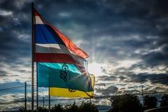 σημαία Ταϊλάνδη Στοκ φωτογραφία με δικαίωμα ελεύθερης χρήσης