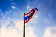 σημαία Ταϊλάνδη Στοκ φωτογραφίες με δικαίωμα ελεύθερης χρήσης