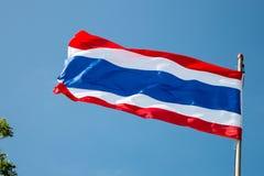 σημαία Ταϊλάνδη Στοκ εικόνα με δικαίωμα ελεύθερης χρήσης