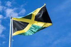σημαία Τζαμάικα Στοκ Φωτογραφία