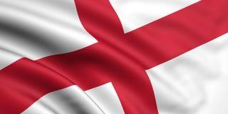 σημαία της Αγγλίας Στοκ Εικόνες