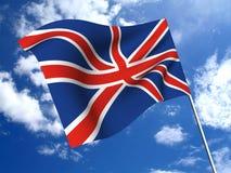 σημαία της Αγγλίας Στοκ φωτογραφία με δικαίωμα ελεύθερης χρήσης