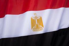 σημαία της Αιγύπτου Στοκ Εικόνα
