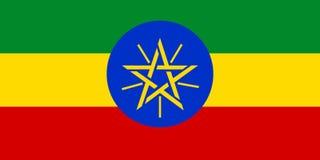 Σημαία της Αιθιοπίας απεικόνιση αποθεμάτων