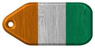 Σημαία της Ακτής του Ελεφαντοστού στοκ φωτογραφίες