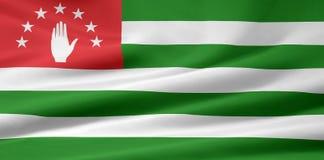 σημαία της Αμπχαζίας Στοκ Φωτογραφίες