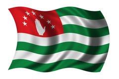 σημαία της Αμπχαζίας στοκ εικόνα