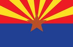 σημαία της Αριζόνα Στοκ φωτογραφία με δικαίωμα ελεύθερης χρήσης