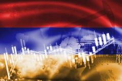 Σημαία της Αρμενίας, χρηματιστήριο, οικονομία ανταλλαγής και εμπόριο, παραγωγή πετρελαίου, σκάφος εμπορευματοκιβωτίων στην εξαγωγ διανυσματική απεικόνιση