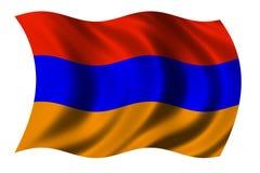 σημαία της Αρμενίας διανυσματική απεικόνιση