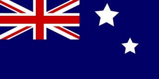 σημαία της Αυστραλίας διανυσματική απεικόνιση