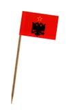 σημαία της Αλβανίας Στοκ Φωτογραφία