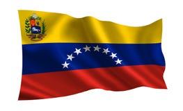 Σημαία της Βενεζουέλας Μια σειρά σημαιών ` του κόσμου ` Η χώρα - σημαία της Βενεζουέλας Στοκ φωτογραφία με δικαίωμα ελεύθερης χρήσης
