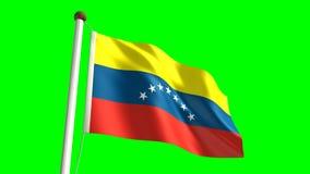 Σημαία της Βενεζουέλας απεικόνιση αποθεμάτων