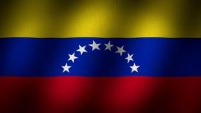 Σημαία της Βενεζουέλας διανυσματική απεικόνιση