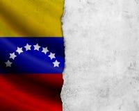 Σημαία της Βενεζουέλας Grunge Στοκ εικόνες με δικαίωμα ελεύθερης χρήσης