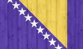 Σημαία της Βοσνίας στοκ φωτογραφία