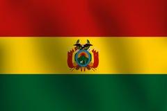 Σημαία της Βολιβίας - διανυσματική απεικόνιση Στοκ Εικόνα