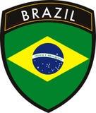 σημαία της Βραζιλίας Στοκ φωτογραφία με δικαίωμα ελεύθερης χρήσης