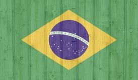 Σημαία της Βραζιλίας στοκ εικόνα με δικαίωμα ελεύθερης χρήσης