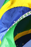 σημαία της Βραζιλίας Στοκ φωτογραφίες με δικαίωμα ελεύθερης χρήσης