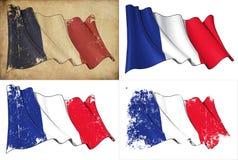 Σημαία της Γαλλίας Στοκ φωτογραφία με δικαίωμα ελεύθερης χρήσης