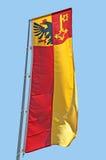 σημαία της Γενεύης Στοκ Φωτογραφία