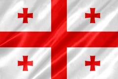 Σημαία της Γεωργίας στοκ εικόνες με δικαίωμα ελεύθερης χρήσης