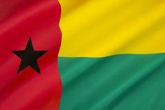 Σημαία της Γουινέα-Μπισσάου Στοκ Εικόνες