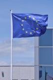 Σημαία της ΕΕ Στοκ εικόνες με δικαίωμα ελεύθερης χρήσης