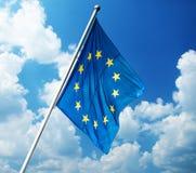 Σημαία της Ευρωπαϊκής Ένωσης Στοκ Εικόνες
