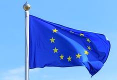Σημαία της Ευρωπαϊκής Ένωσης Στοκ Φωτογραφία