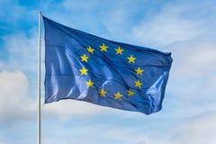 Σημαία της Ευρωπαϊκής Ένωσης Στοκ Εικόνα