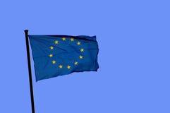 σημαία της Ευρώπης Στοκ εικόνα με δικαίωμα ελεύθερης χρήσης