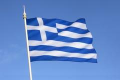 Σημαία της Ελλάδας - της Ευρώπης στοκ εικόνες