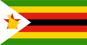 Σημαία της Ζιμπάμπουε ελεύθερη απεικόνιση δικαιώματος