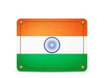 Σημαία της Ινδίας τζιν διανυσματική απεικόνιση